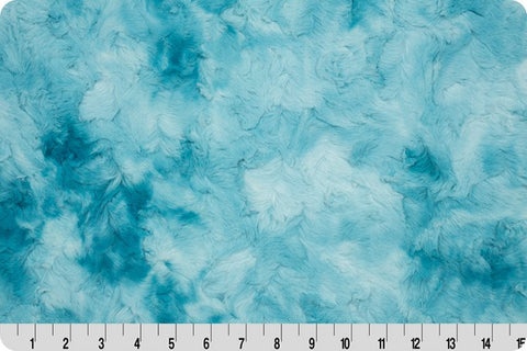 Endless Essentials Pre-Order: Minky Basics - Cuddle® Galaxy Aqua Sea