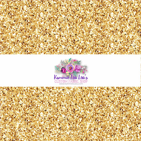 Endless Essentials Pre-Order: Kammieland Glitters - Traditional Basic Gold KF