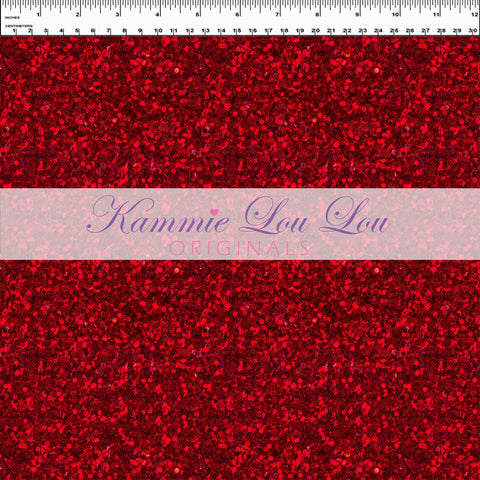 Endless Essentials Pre-Order: Kammieland Glitters - Traditional Crimson