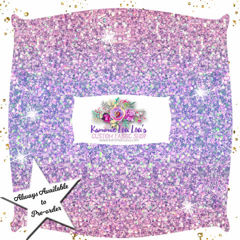 Endless Essentials Pre-Order: Kammieland Glitters - Purple Pink Ombre