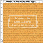 Endless Essentials Pre-Order Kammieland Most Requested - Faux Linen - Pumpkin