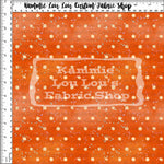 Endless Essentials Pre-Order: Kammieland Most Requested - Watercolor Dots Orange
