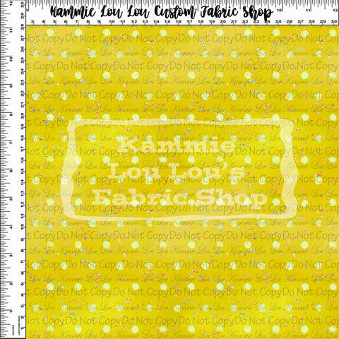 Endless Essentials Pre-Order: Kammieland Most Requested - Watercolor Dots Yellow
