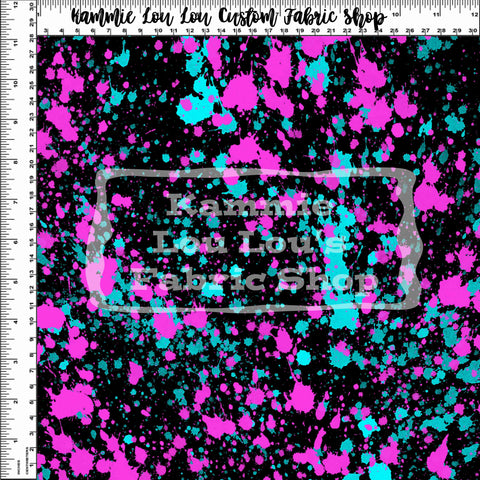 Endless Essentials Pre-Order: Paint Splatter - Neon Pink Blue Remix