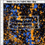 Endless Essentials Pre-Order: Paint Splatter - OrangeBlue Remix