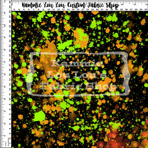 Endless Essentials Pre-Order: Paint Splatter - Golden Lime Remix