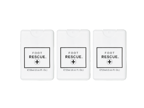 3 Pack - Credit Card Sprayer - 20ml - Foot Rescue