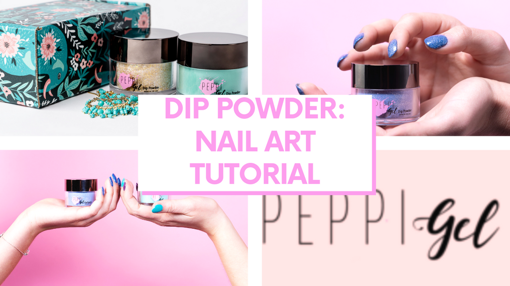 Dip Powder Nail Art: Peppi Gel