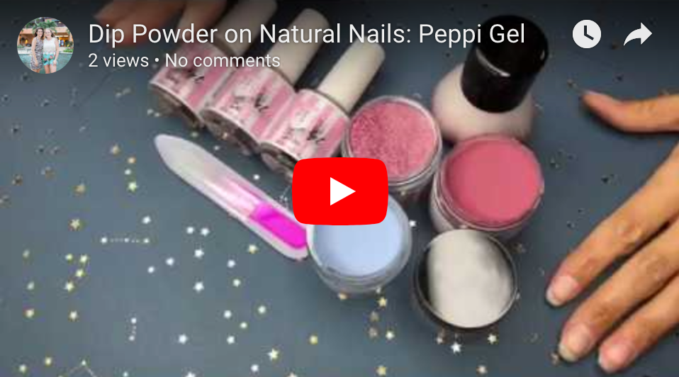 Easy DIY Dip Powder: Peppi Gel