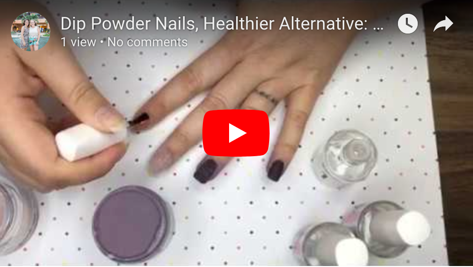 Vegan Dip Powder Nails: Peppi Gel