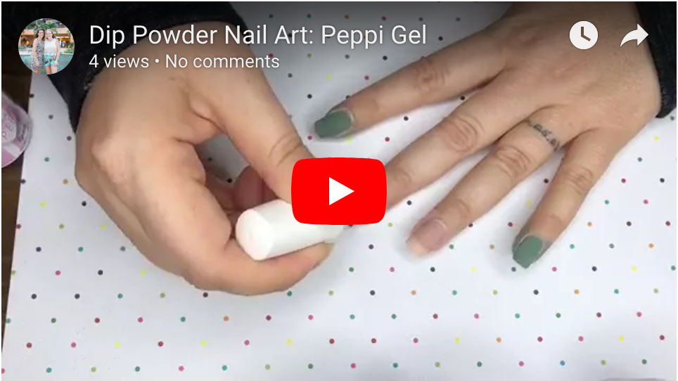 How To Apply Dip Powder: Peppi Gel