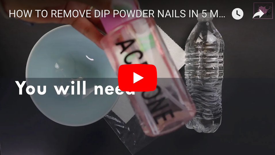 How To Remove Dip Powder in 5 Mins: Peppi Gel