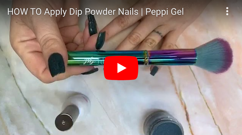 HOW TO Apply Dip Powder Nails | Peppi Gel