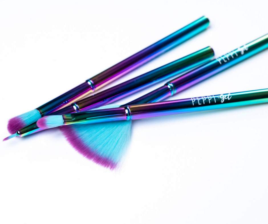 Nail Art Brushes - Peppi Gel