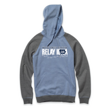 Relay Iowa ADULT Hoodie with Block & Tackle Design - 2 Colors - FREE SHIPPING