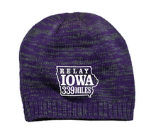 Relay Iowa Embroidered Beanie - 2 COLORS - FREE SHIPPING