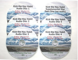 Kick the Hay Habit Audio Book (Free Shipping)