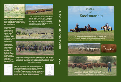 Manual of Stockmanship by Steve Cote