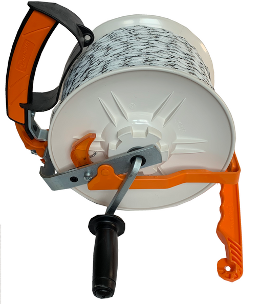 Preloaded Gallagher Geared Medium Reel w/ Dead Handle