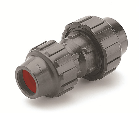 "1-1/2"" x 1-1/4"" IPS 90 Reducing Coupling"