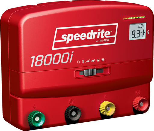 Speedrite 18000i Dual Powered Energizer with Remote/Fault Finder/Voltmeter