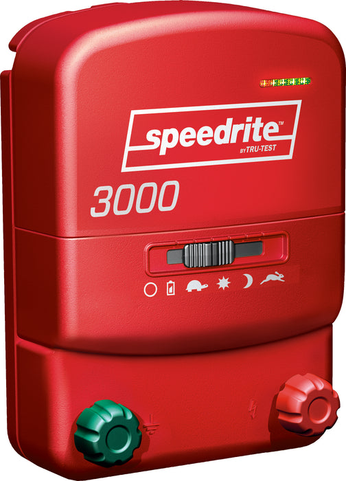 Speedrite 3000 Dual Powered Energizer, 3 Joule, 110 V or 12 V