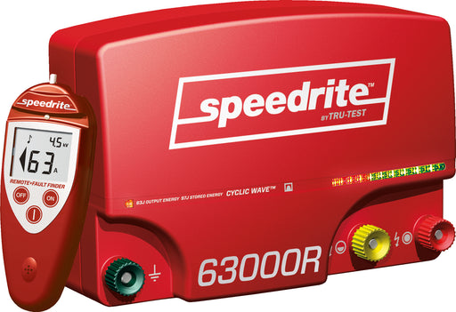 Speedrite 63000i Cyclic Wave Energizer with Remote/Fault Finder/Voltmeter 220v