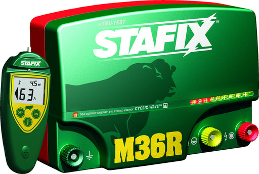 Stafix M36R Cyclic Wave Energizer with Remote/Fault Finder/Voltmeter