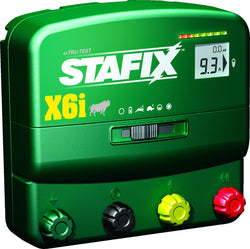 Stafix X6i Dual Powered Energizer with Remote/Fault Finder/Voltmeter
