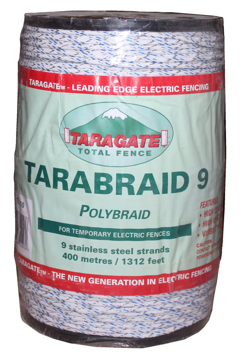 TaraBraid 1312' w/ 9 stainless steel conductors, blue & white