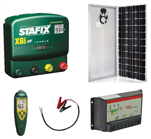 **NEW Product** Solar Bundle - Stafix X6i Unigizer + Remote