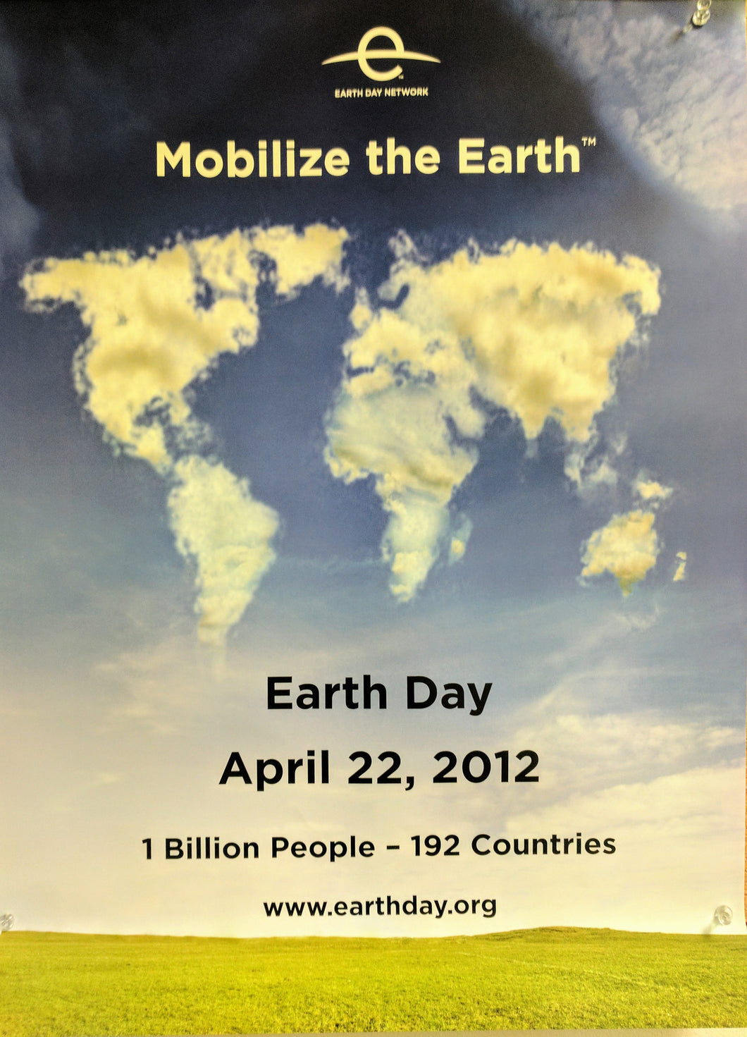 Earth Day 2012 Mobilize the Earth poster