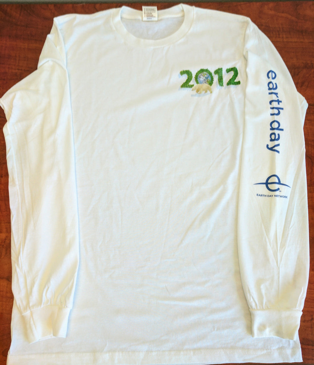 Earth Day 2012 long-sleeved shirt
