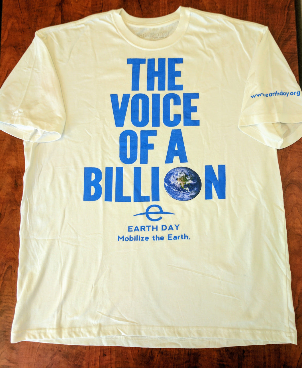 The Voice of a Billion shirt (Patagonia)