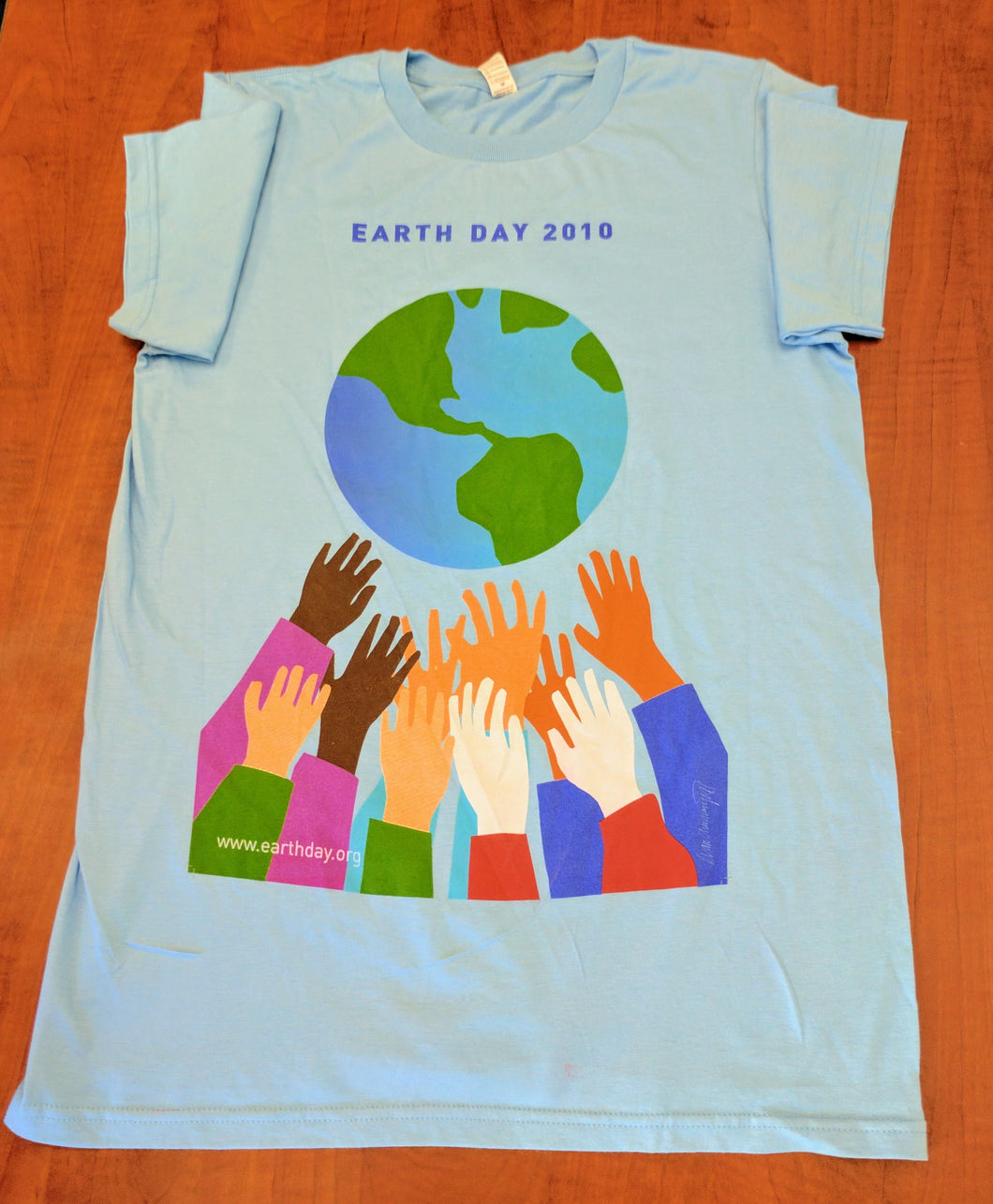 Earth Day 2010 shirt