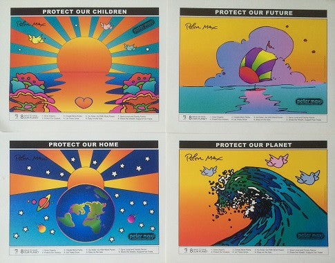 Complete Peter Max poster collection