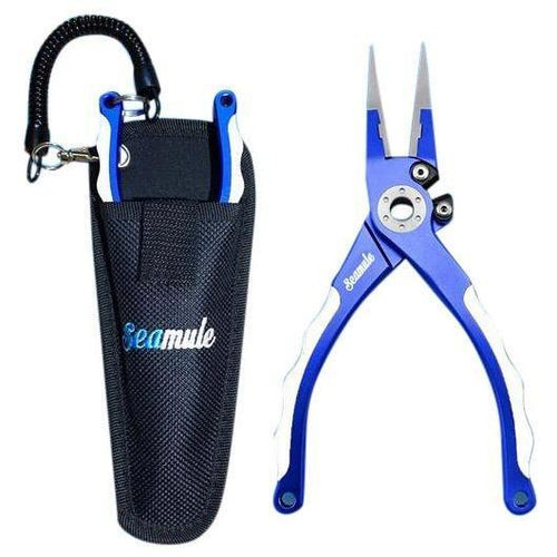 Aluminum Tournament Pliers With Sheath - Seamule