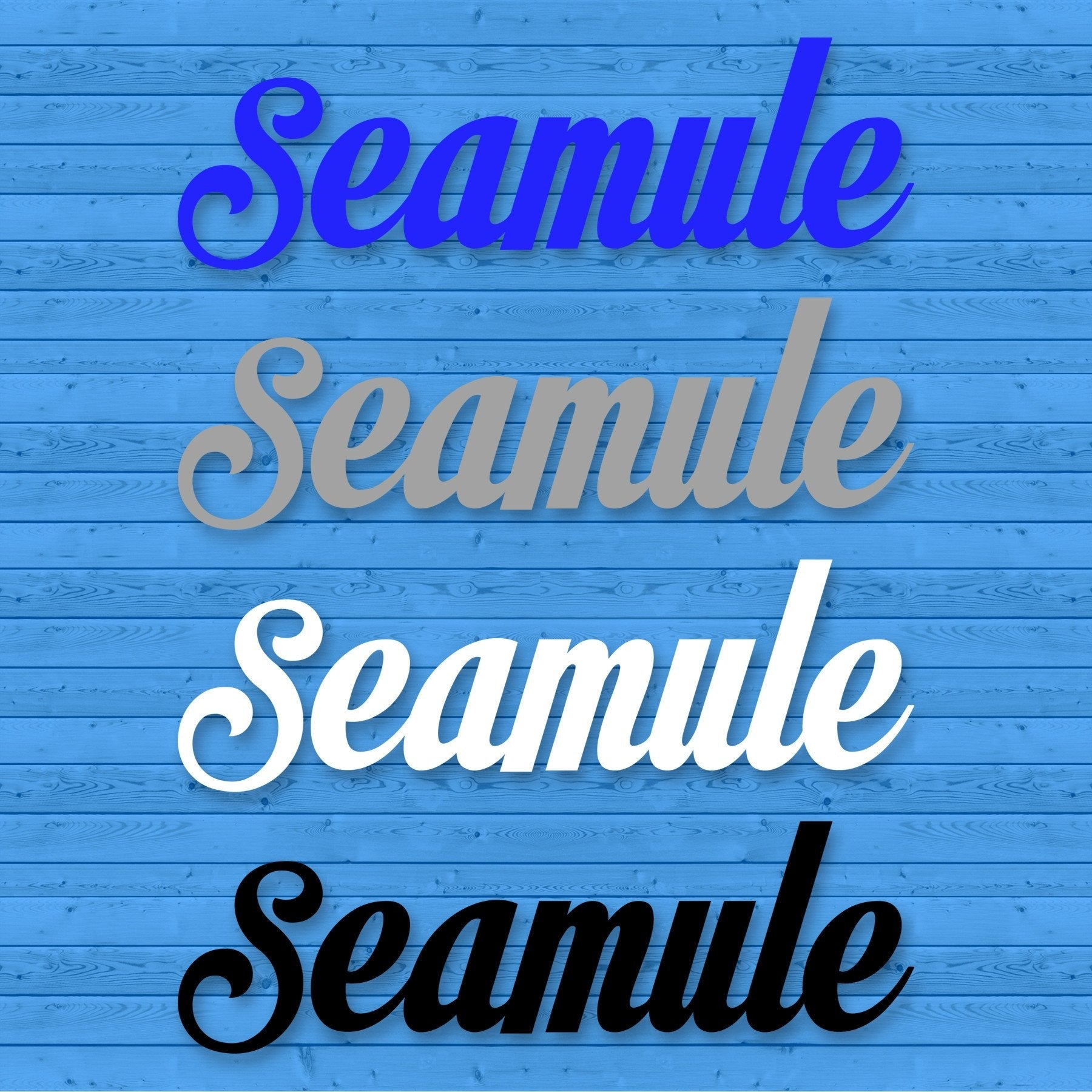 Seamule decal