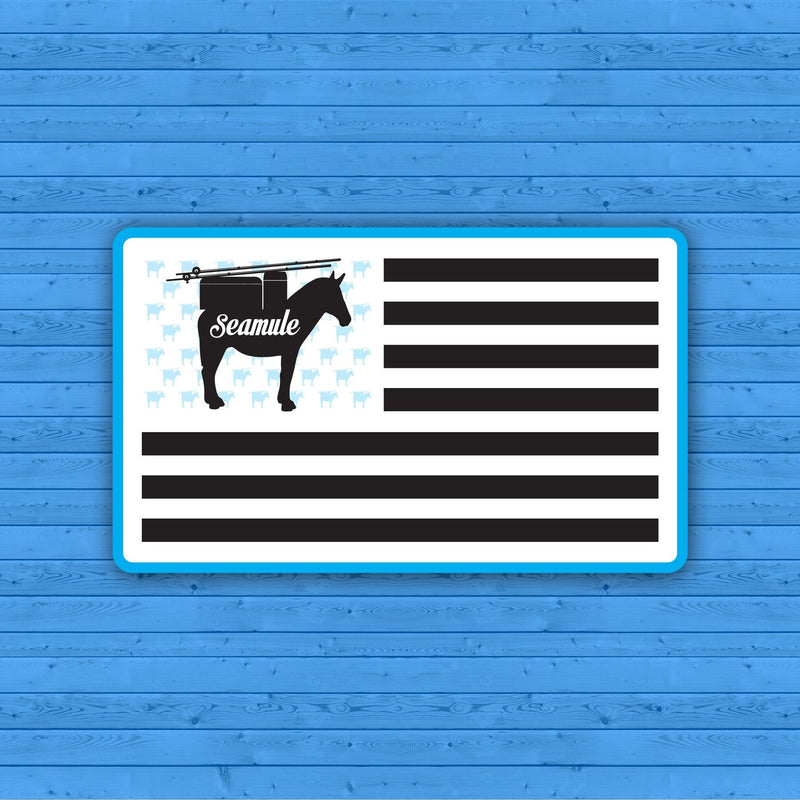 Flag Sticker - Seamule