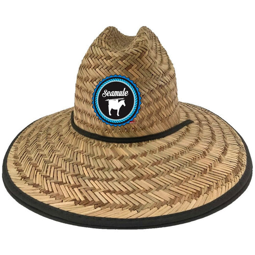 Lifeguard Straw Hat With Patch