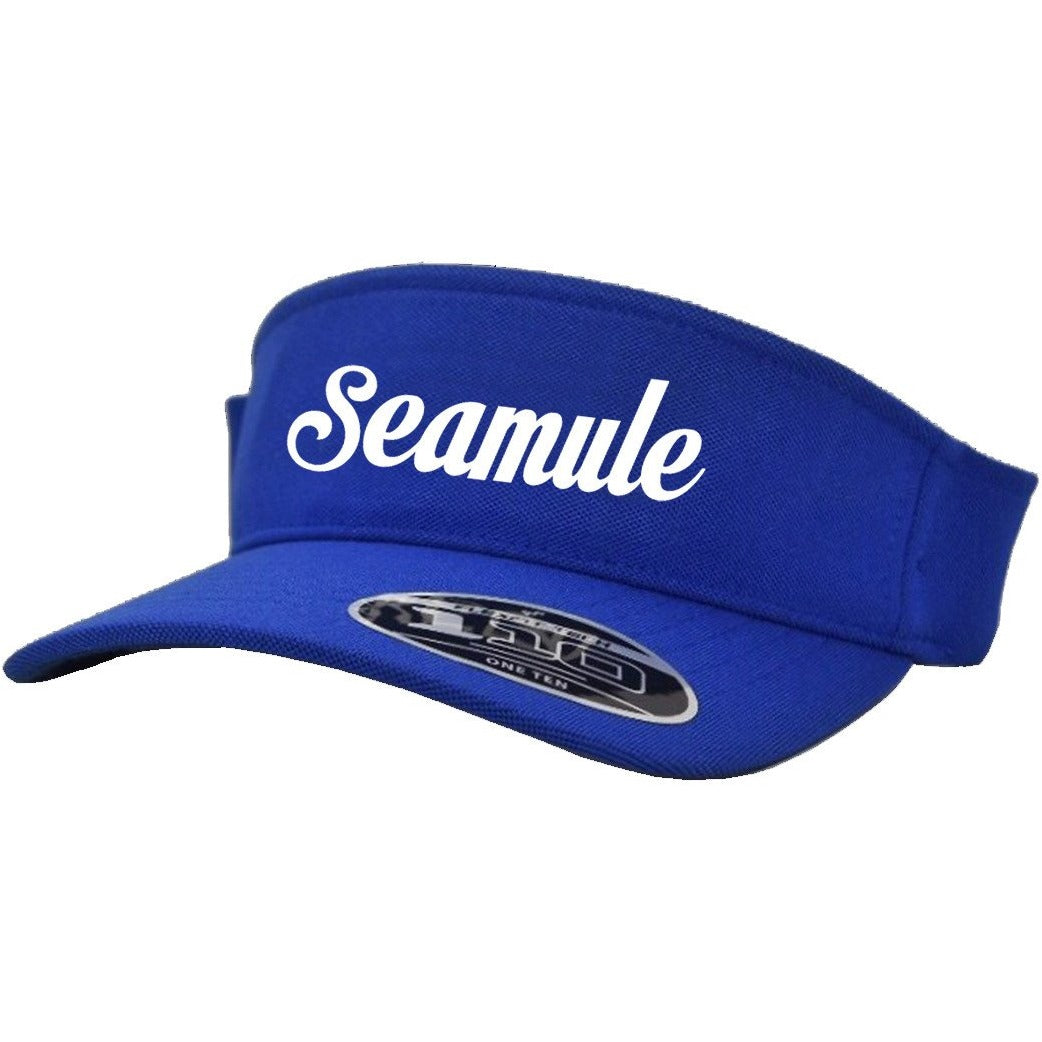 Seamule Visor with Screen Print