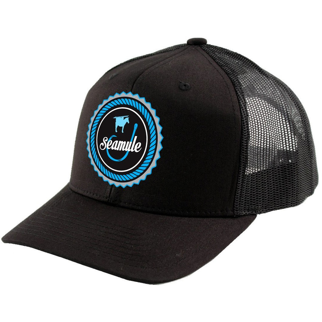 Trucker Mesh Hat Snapback With Patch