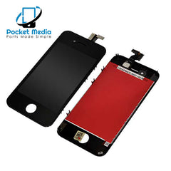 Premium iPhone 4S Replacement Screen - Black