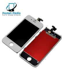 Premium iPhone 4S Replacement Screen - White