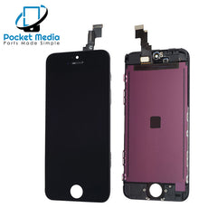 Premium iPhone 5C Replacement Screen - Black
