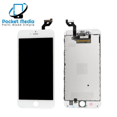 Premium iPhone 6S Plus Replacement Screen - White