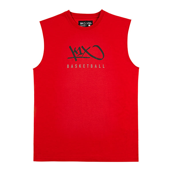 k1x hardwood sleeveless tee - major red