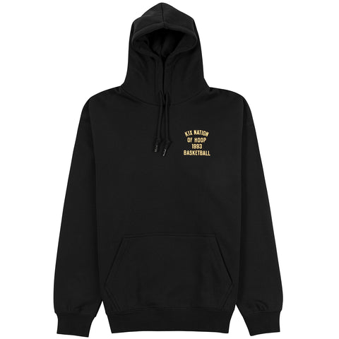 One Court At A Time Hoody - black