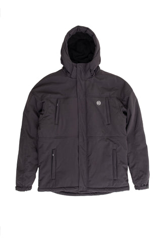 Urban Hooded Zipthrough - black