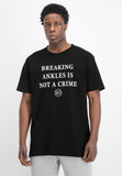 Breaking Ankles Tee - black